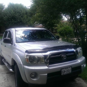 05 tacoma plastidip eyelid bug deflector fh group
