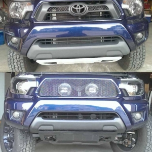 Before & After front end