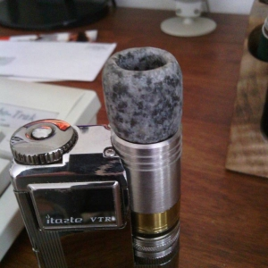 Fogger V2 with Hedenmade granite Megabore driptip on VTR.