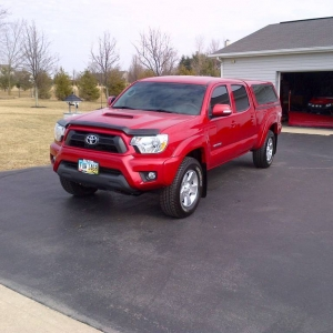 Andy's 2013 Sport TRD Tacoma