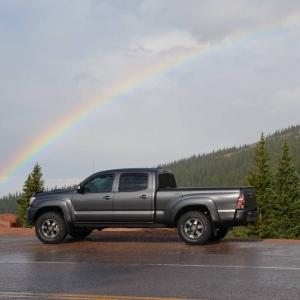 Pikes Peak Rainbow