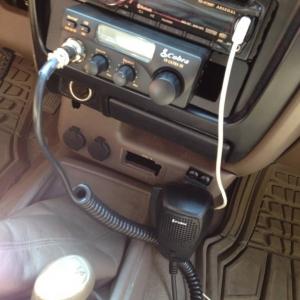 Cb mounted and mic mounted
