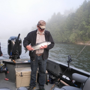 Don's steelhead fishing trip July 2014