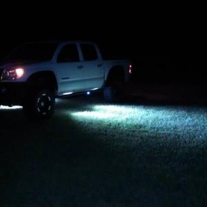 Led Lights under Tacoma