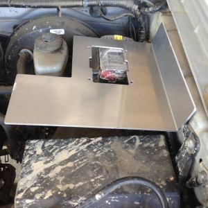 mounting plate clearence for oil filter