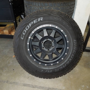 "17"" Methods with Tires for Sale!"