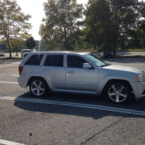 New to me srt8 jeep