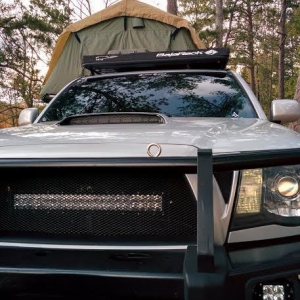 RTT Roof Top Tent bumper
