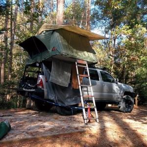 RTT Roof Top Tent rear