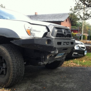 Accident-Front Bumper