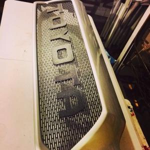 Custom grills for your Toyota Tacoma! Www.ecgfabrication.com