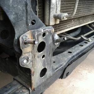 Bumper mounting 01
