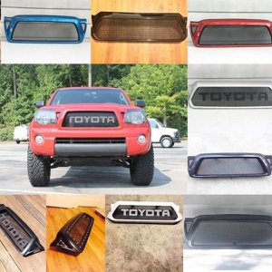 Custom grills for Toyota Tacomas. Check us out at www.ecgfabrication.com !