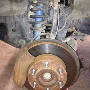 The Tundra brake saga