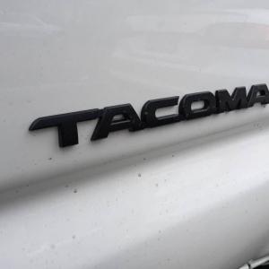 TRD Pro Tacoma Emblem