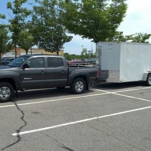 2012 Tacoma pulling 15' trailer