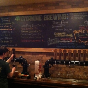 Sycamore Brewing in Charlotte, NC.
