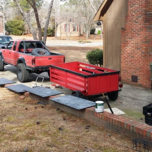 Honey Badger Trailer 3.0 Mobile tool shed addition