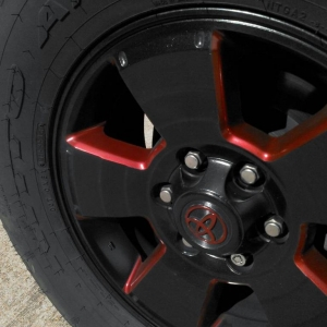 painted OEM wheel