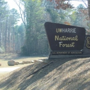 Uwharrie Sign