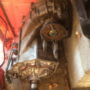 transmission supercharger transfercase