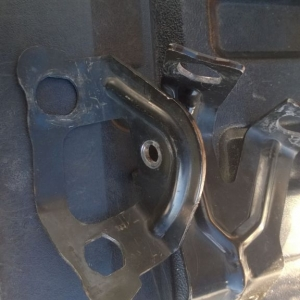 Rear brake line brackets, free plus shipping