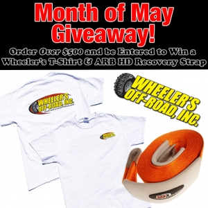 WOR - Month Of May Giveaway