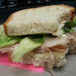 Sammich...fell apart in my lunchbox :(
