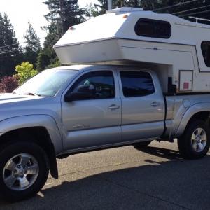 "2013 Tacoma / 91 Northern Lite 6'10"""