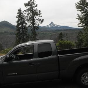 Cascades, central OR