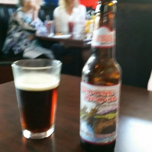 Found Moose Drool on the beer list at Standard Diner in Albuquerque.