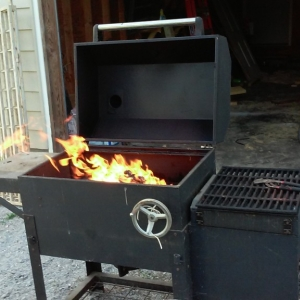 """Im starting to remember why i only grill in months that have """"r"""" in them"""