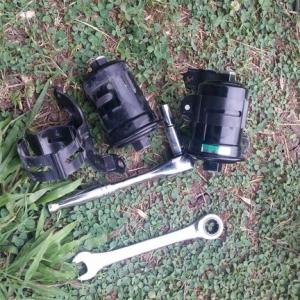 4runner build - fuel filter change