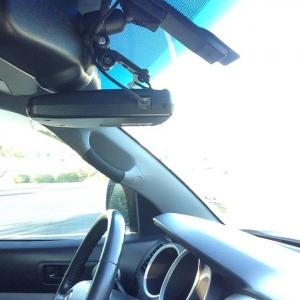 Rear View Mirror Lift & Radar
