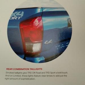2016 Taillights