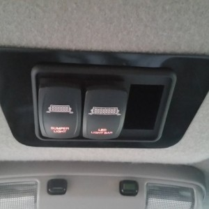 Light Bar switches