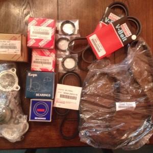 Oem timing belt kit for the dirt_yota