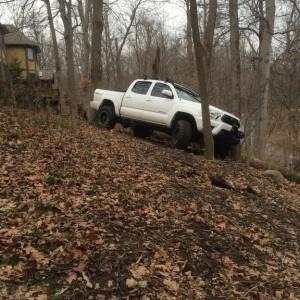 Oops - stuck