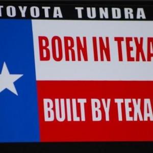 Tundra TX Built Decal