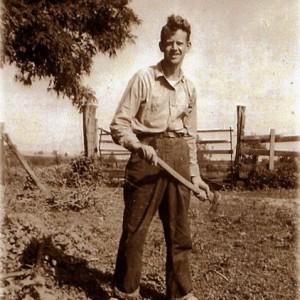 Grandpa On Farm