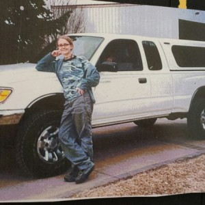 The OG Tacoma - 1997 3.4L (and me, at 16)
