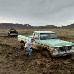 Ford recovery mission in the Picabo desert