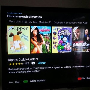 On my amazon prime. Great movie placement