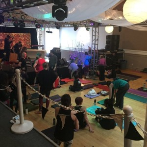 Yogafort at Treefort music fest!