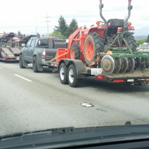 Saw this on the freeway today, looks quite heavy.