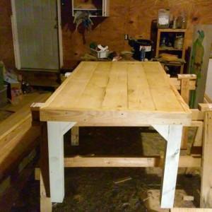 Table is done