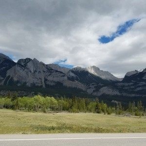 Little more Canada between Hinton AB and Kamloops, BC through Jasper National Park.