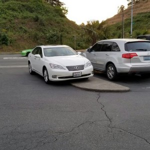 Guess here in Washington you can park wherever! Sweet