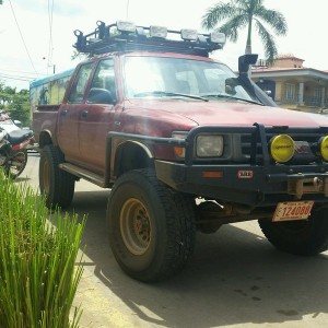 SAS HiLux here in Costa Rica.