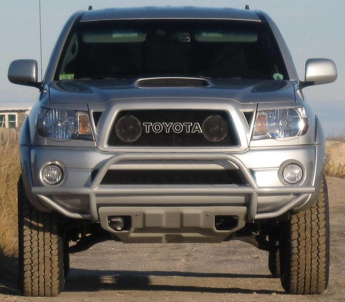 2014 Toyota Tacoma Access Cab Transmission: Any Pictures Out There With 275/70/17 A/T Tires On There